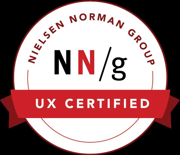 Nielsen Norman UX Certified